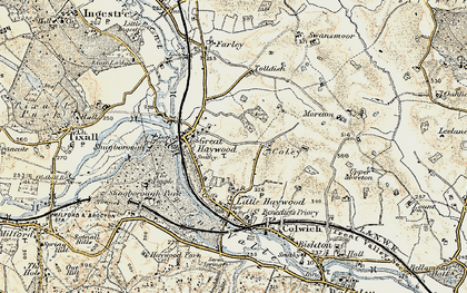 Old map of Tolldish in 1902