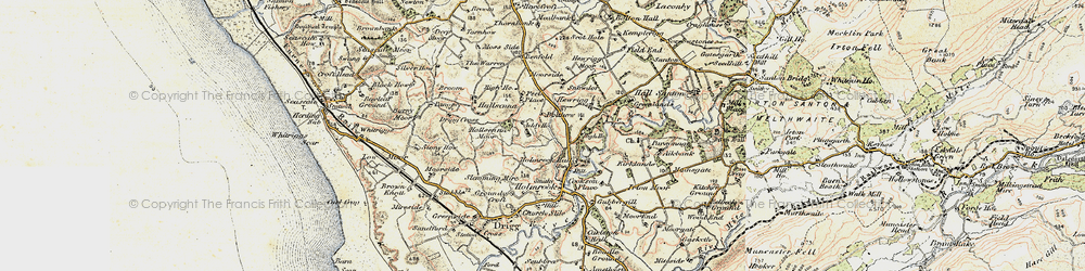 Old map of Addy Ho in 1903-1904