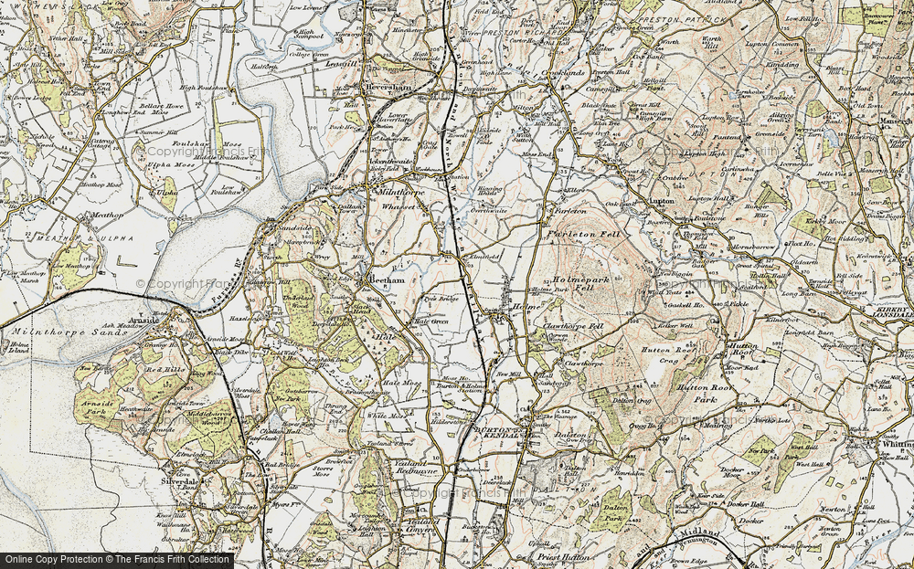 Old Map of Historic Map covering Limestone Link in 1903-1904