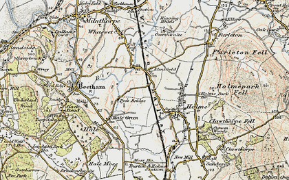 Old map of Limestone Link in 1903-1904