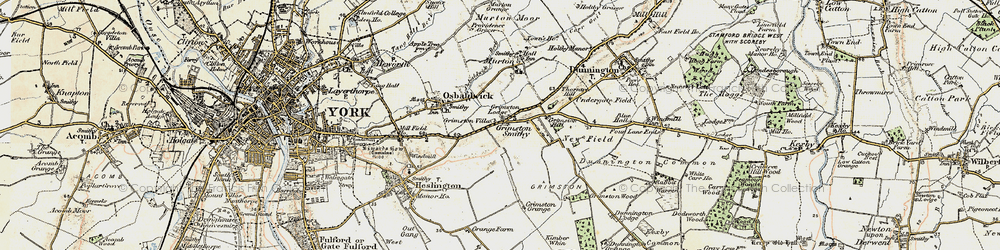 Old map of Langwith Lodge in 1903