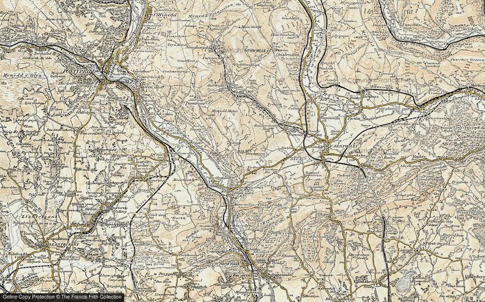 Groeswen, 1899-1900