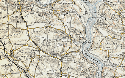 Old map of Ashdale in 1901-1912
