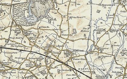 Old map of Leper Ho in 1902