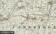 Map of Haddenham, 1901