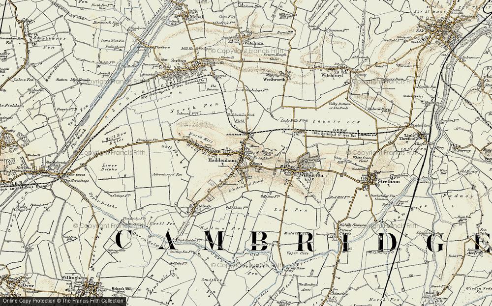 Haddenham, 1901