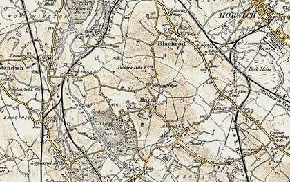 Old map of Willoughbys in 1903