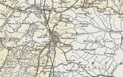 Old map of Lion Ho in 1898