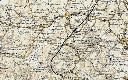 Old map of Wynbrook in 1902