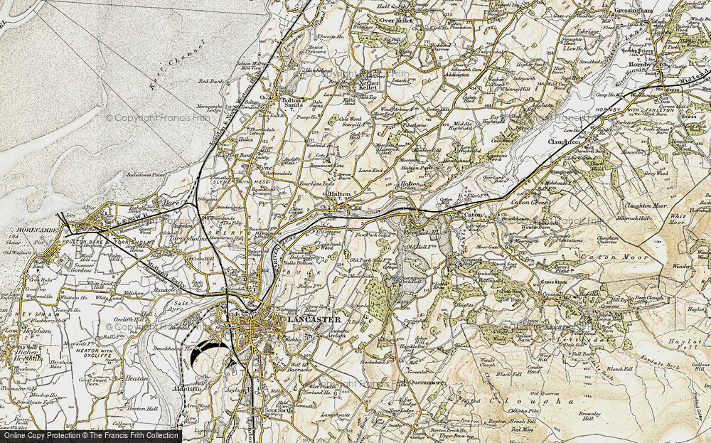 Old Map of Halton, 1903-1904 in 1903-1904