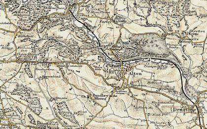 Old map of Alton Common in 1902