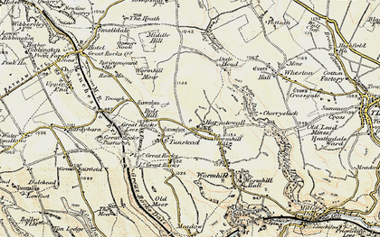 Old map of Wind Low in 1902-1903