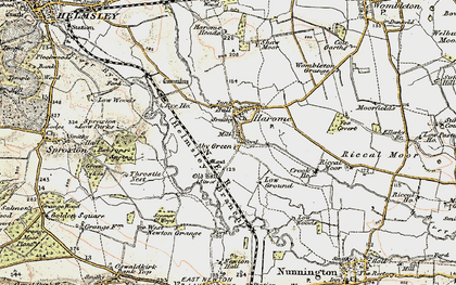 Old map of West Newton Grange in 1903-1904