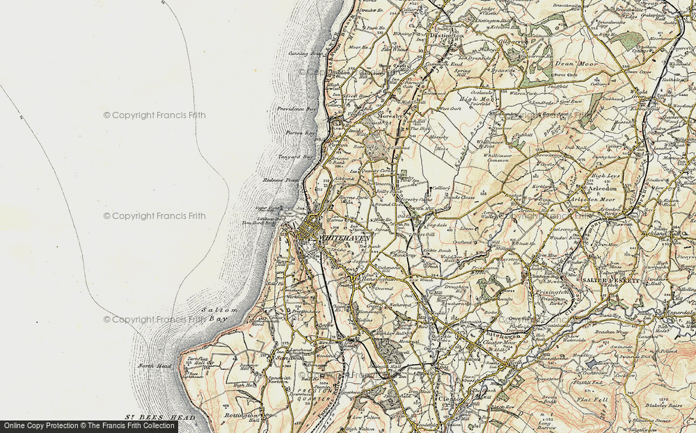 Old Map of Harras, 1901-1904 in 1901-1904
