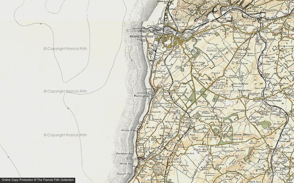Old Map of Harrington, 1901-1904 in 1901-1904
