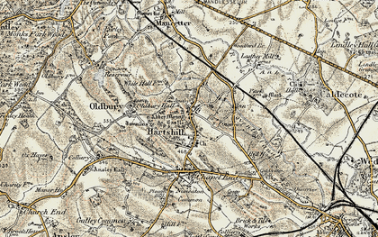 Old map of Woodford Br in 1901-1903