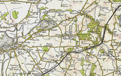 Old map of Westgarth in 1901-1904