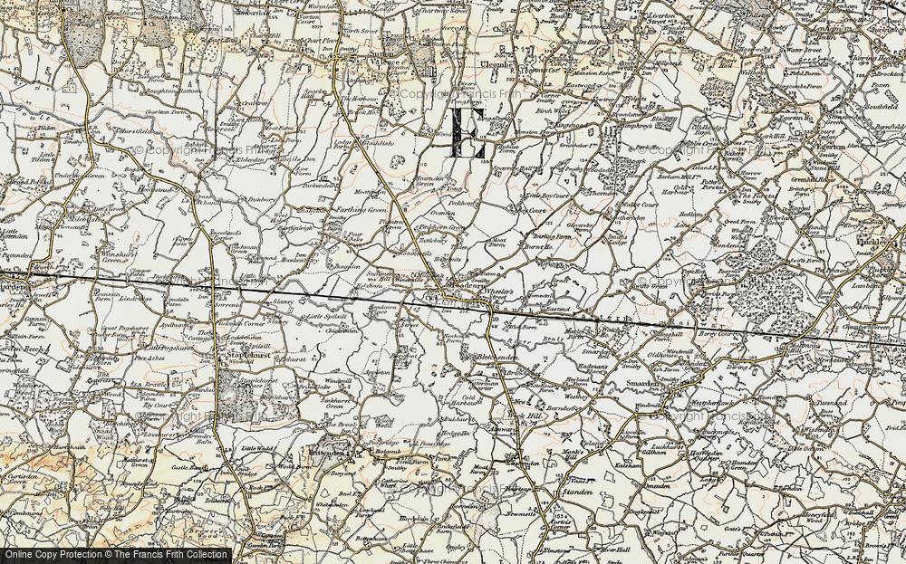 Headcorn, 1897-1898