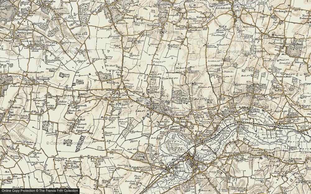 Hedenham, 1901-1902