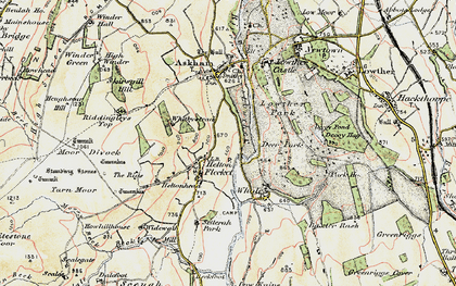 Old map of Askham Fell in 1901-1904