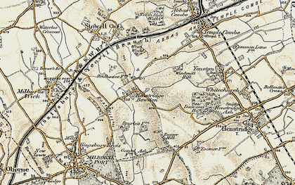 Old map of Toomer Hill in 1899