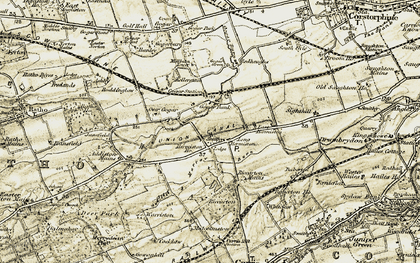 Old map of Hermiston in 1903-1904