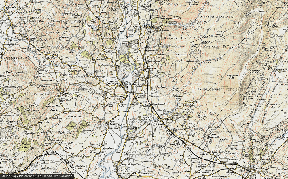 Old Map of High Casterton, 1903-1904 in 1903-1904
