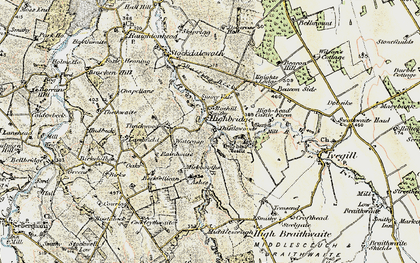 Old map of Ashes, The in 1901-1904