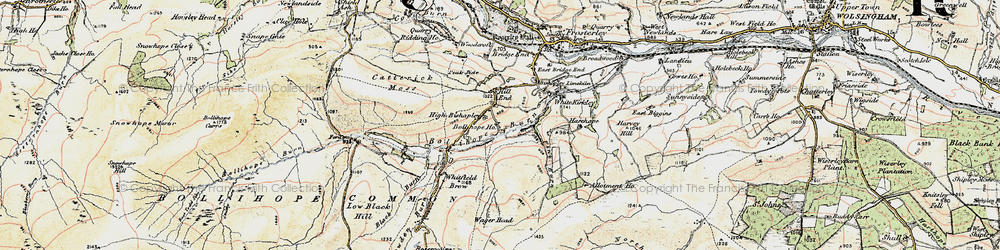 Old map of Allotment Ho in 1901-1904
