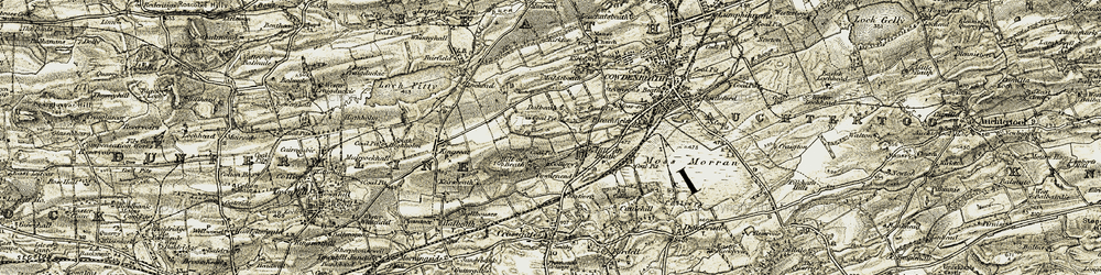 Old map of Windyedge in 1903-1906