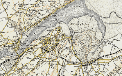 Old map of Abercegin in 1903-1910