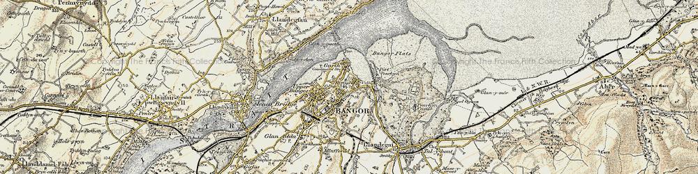 Old map of Abercegin in 1903-1910