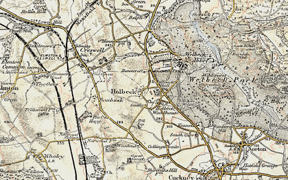 Old map of Tile Kiln Wood in 1902-1903