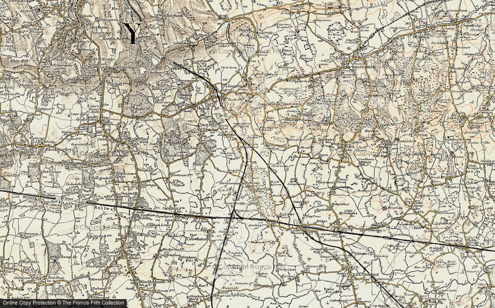 Old Map of Holland, 1898-1902 in 1898-1902