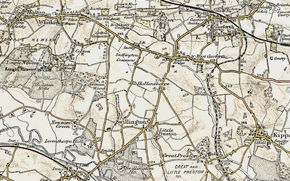 Old map of Avenue Wood in 1903
