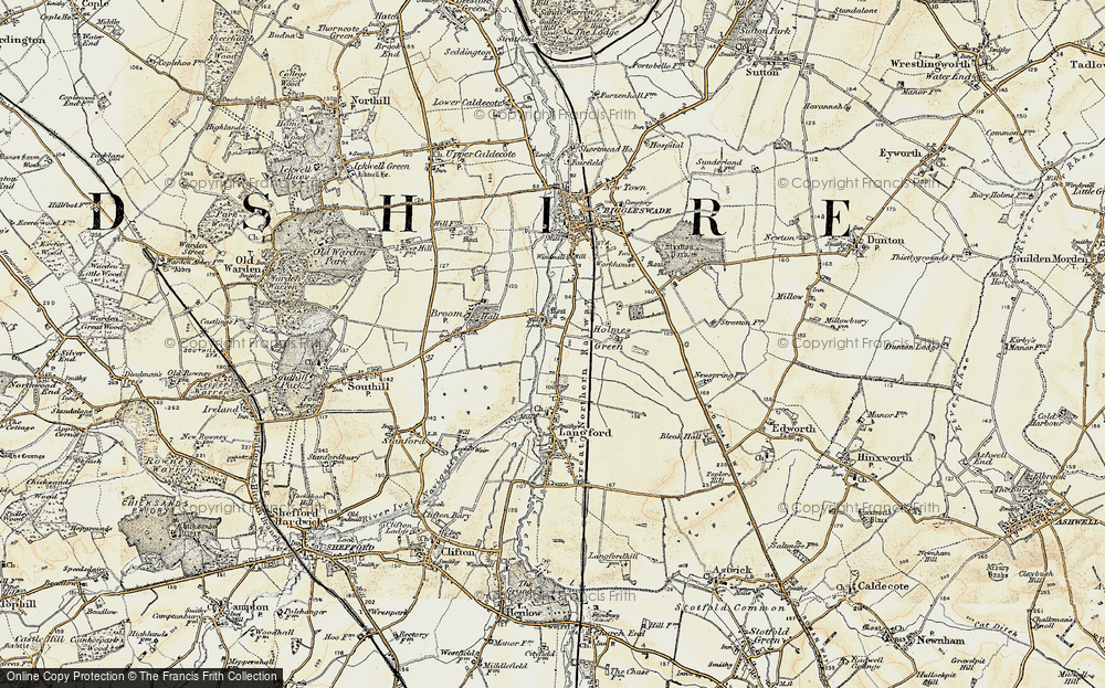 Old Map of Holme, 1898-1901 in 1898-1901