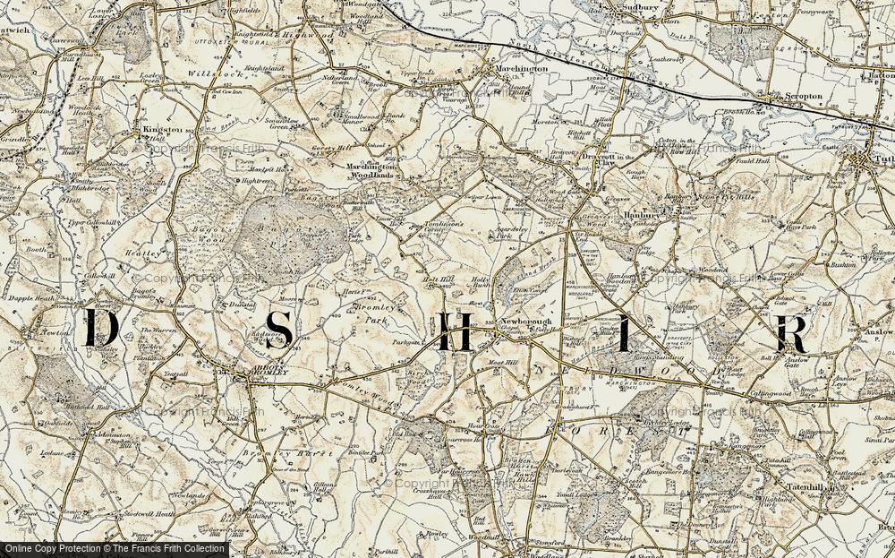 Holt Hill, 1902