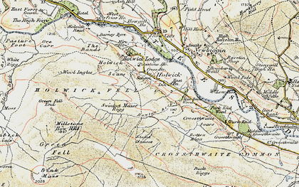 Old map of Wynch Br in 1904