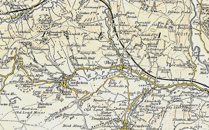 Old map of Hope in 1902-1903