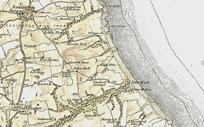 Old map of Yoden Village in 1901-1904