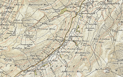 Old map of Arundel Grange in 1903-1904
