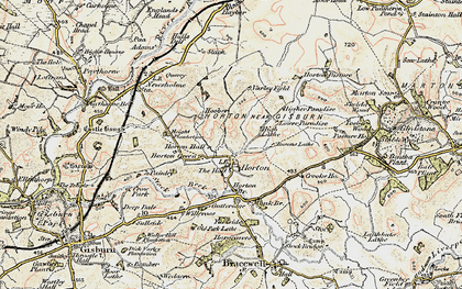 Old map of Willcross in 1903-1904