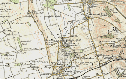 Old map of Hotham in 1903