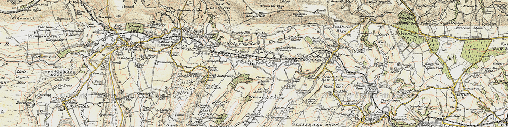 Old map of Wheat Bank in 1903-1904