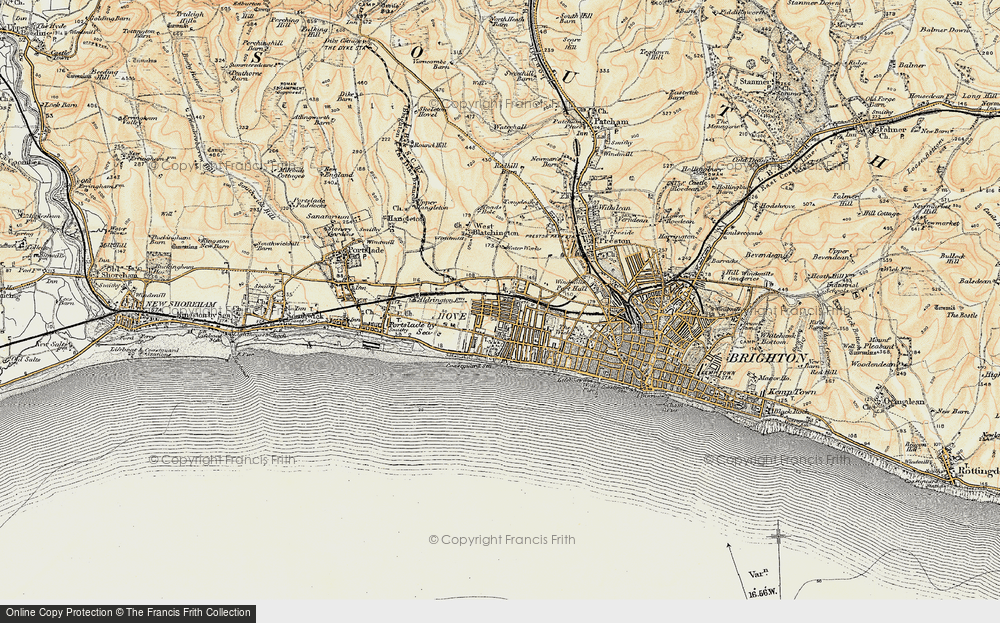 Old Maps of Hove Francis Frith