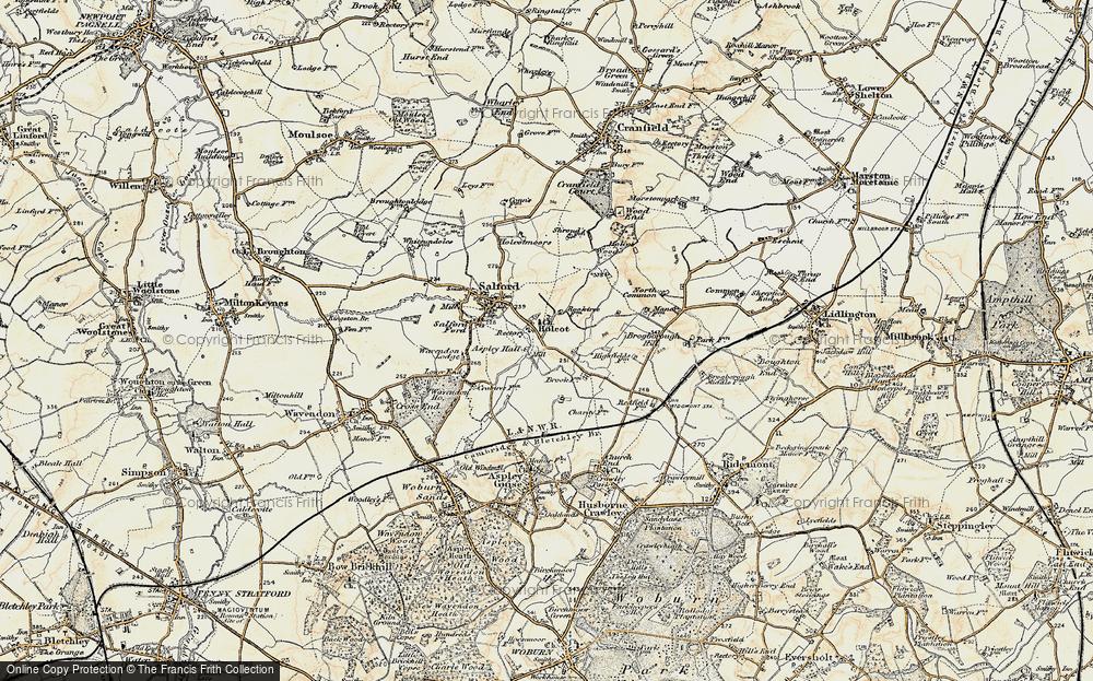Hulcote, 1898-1901