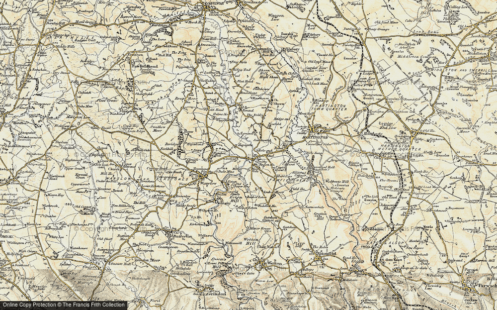 Old Map of Historic Map covering Westside Mill in 1902-1903