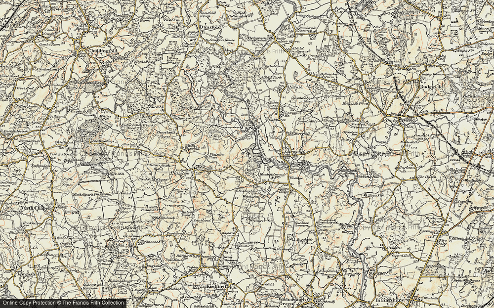 Old Map of Ifold, 1897-1900 in 1897-1900