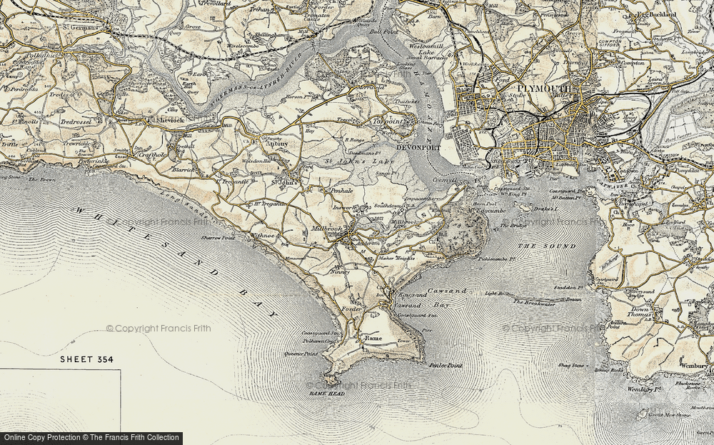Old Maps of Sango Island - Francis Frith San Go Map on mco map, western europe map, northern europe map, central europe map, osi map, mu map, ca map,