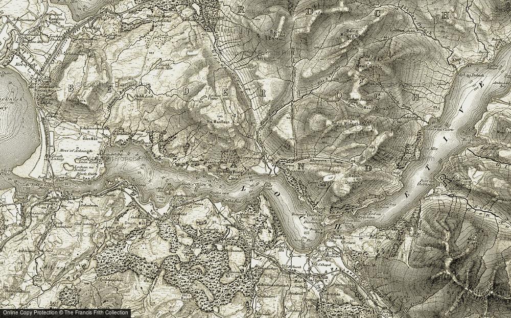 Inveresragan, 1906-1908